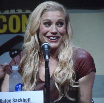 Riddick Comic Con 2013 Katie Sackhoff