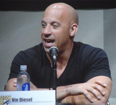 Riddick Comic Con 2013 Vin Diesel as Riddick