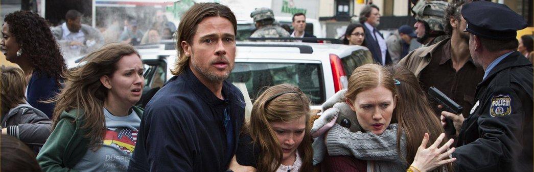 Brad Pitt, World War Z, Mireille Enos