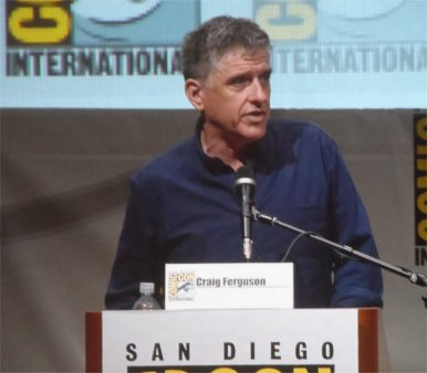 Craig Ferguson, Doctor Who, Comic-Con 2013