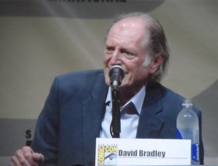 David Bradley, Doctor Who, Comic-Con 2013