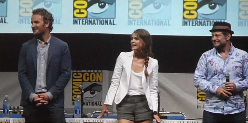Dawn of the Planet of the Apes, Comic-Con 2013 , Jason Clarke, Keri Russell, Andy Serkis