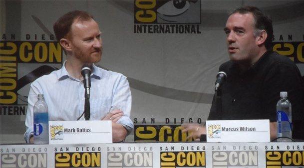 Mark Gatiss, Marcus Wilson, Doctor Who, Comic-Con 2013