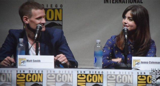 Matt Smith, Jenna Coleman, Doctor Who, Comic-Con 2013