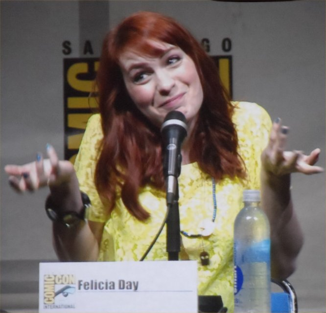 Supernatural, Felicia Day, Comic-Con 2013