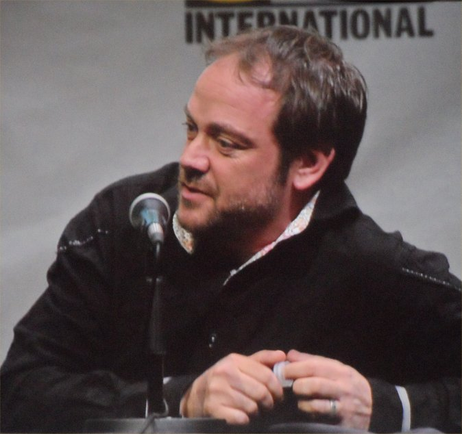 Supernatural, Mark Sheppard, Comic-Con 2013