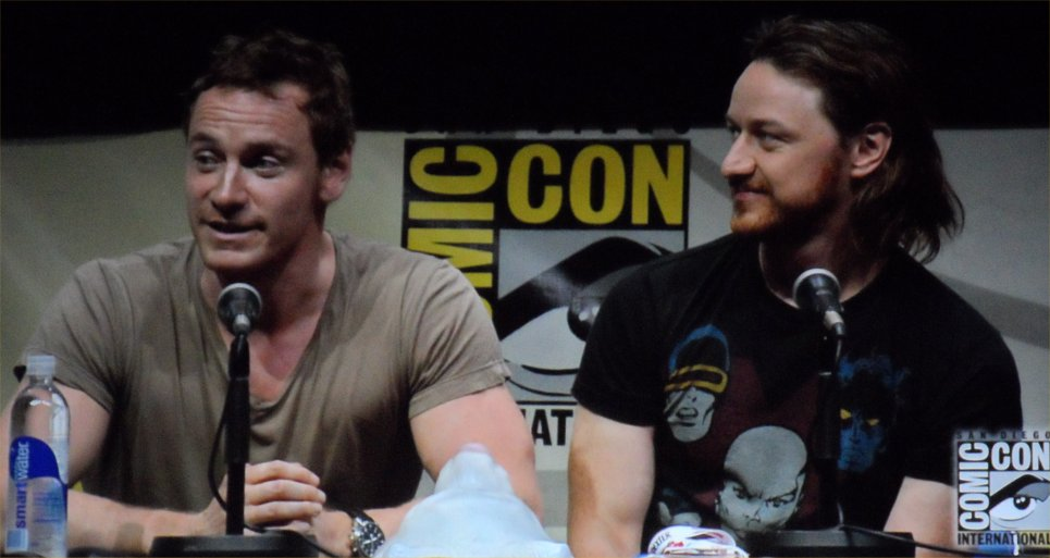 X-Men: Days of Future Past, Michael Fassbender, James McAvoy, Comic-Con 2013