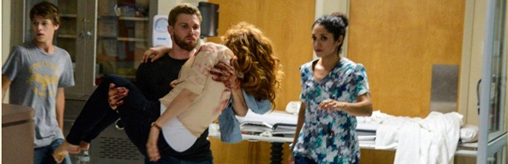 Under the Dome, Season 1 Episode 11, Speak of the Devil, Joe, Barbie, Julia, clinic