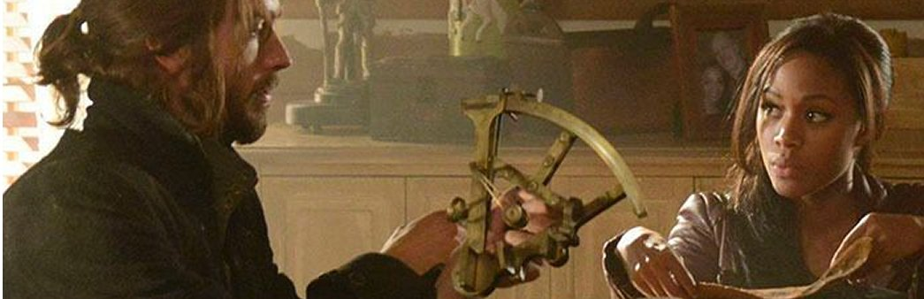 Sleepy Hollow, The Lesser Key of Solomon, Ichabod Crane, Abbie Mills, sextant