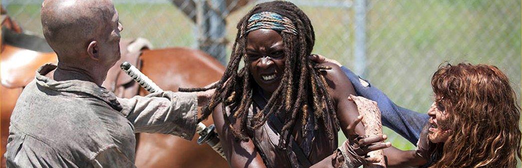 The Walking Dead, Michonne, Infected, Season 4 Episode 2