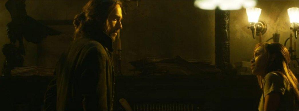 Ichabod Crane and Abby Mills in Sleepy Hollow Episode 3
