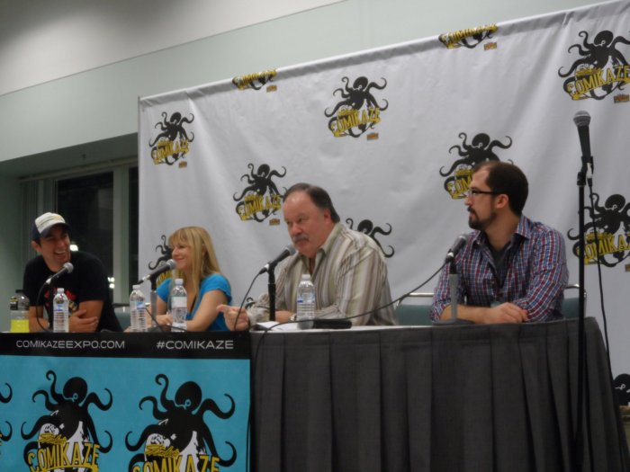 Comikaze, Saved By the Bell, Lion Forge Comics, Mr. Belding, Dennis Haskins, Jonathan London, Joelle Sellner, Adam Staffaroni