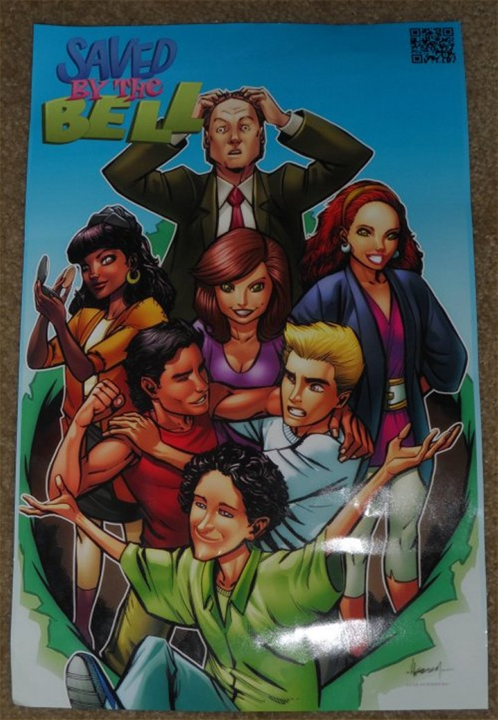 Saved by the Bell comic, Lion Forge Comics