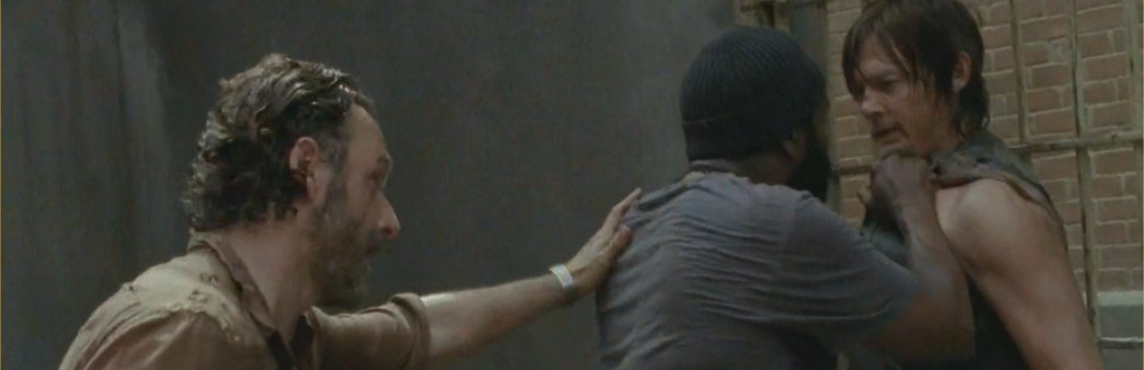 The Walking Dead, Season 4 Episode 3, Isolation, Rick, Tyreese, Daryl
