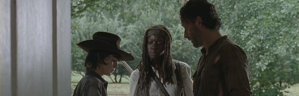 The Walking Dead, Season 4 Episode 11, Claimed, Carl, Michonne, Rick
