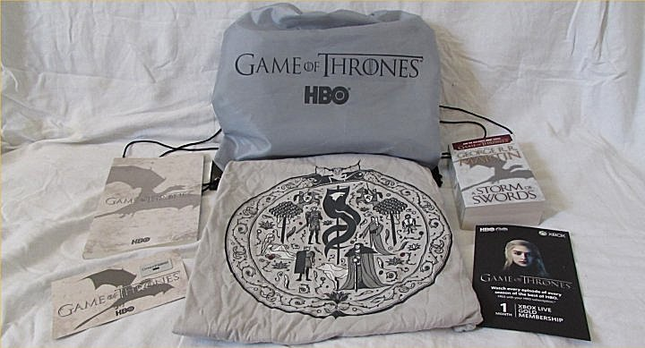 Game of Thrones, giveaway