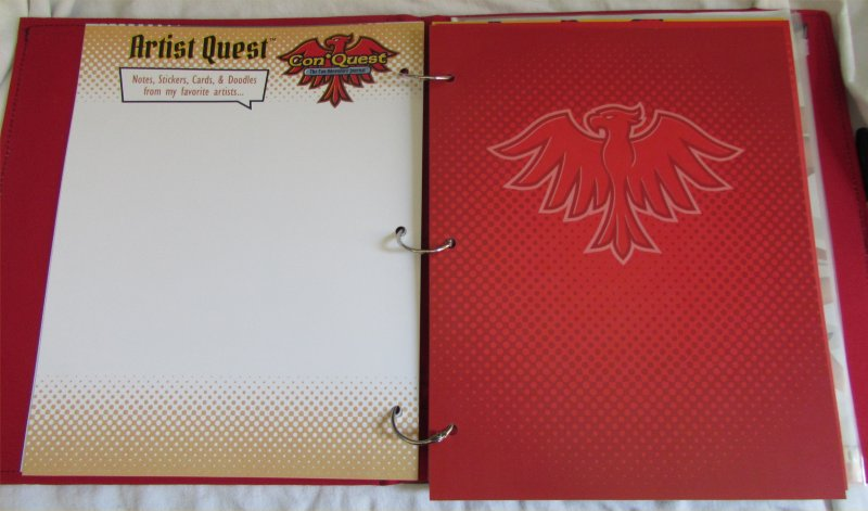 ConQuest Adventure Journal, Artist Quest