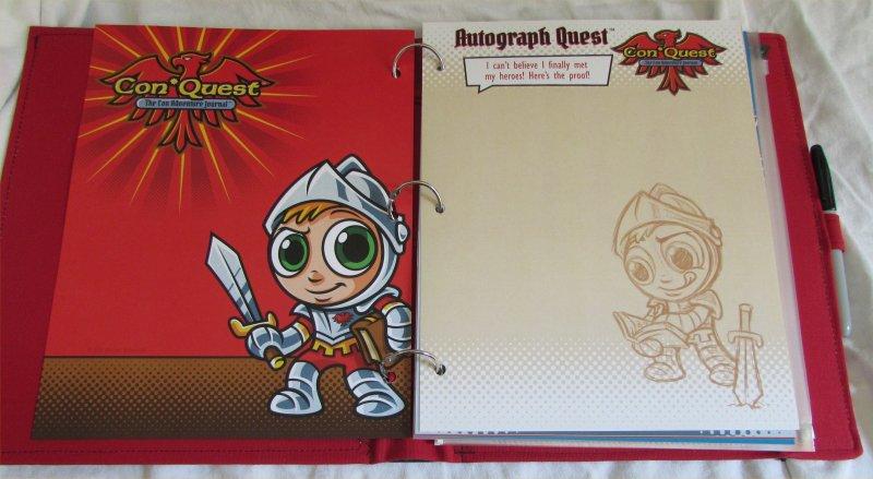 ConQuest Adventure Journal, Autograph Quest