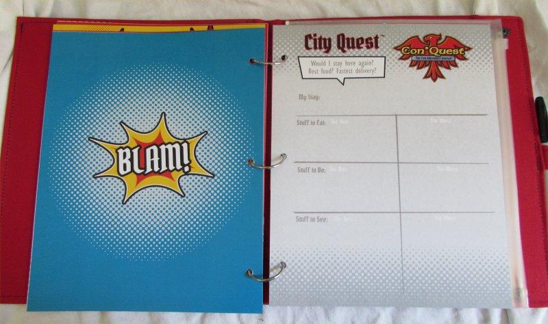ConQuest Adventure Journal, City Quest
