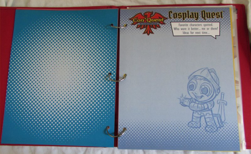 ConQuest Adventure Journal, Cosplay Quest