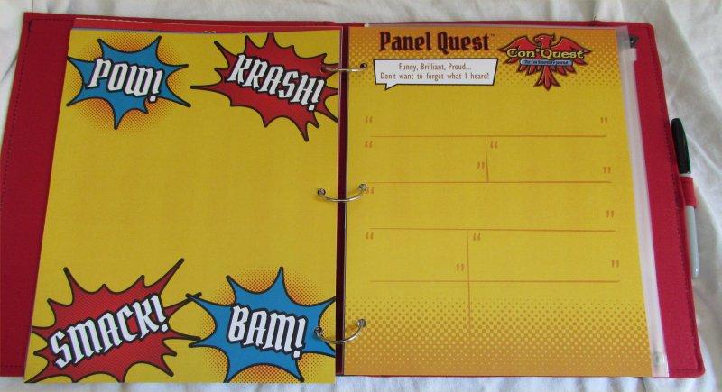 ConQuest Adventure Journal, Panel Quest