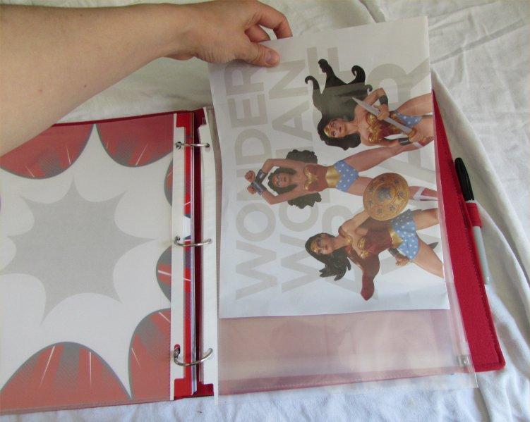 ConQuest Adventure Journal, Wonder Woman