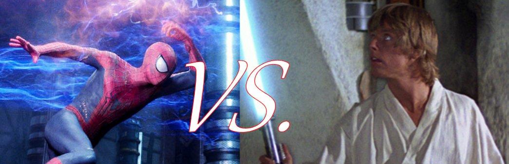 Spider-Man VS Luke Skywallker