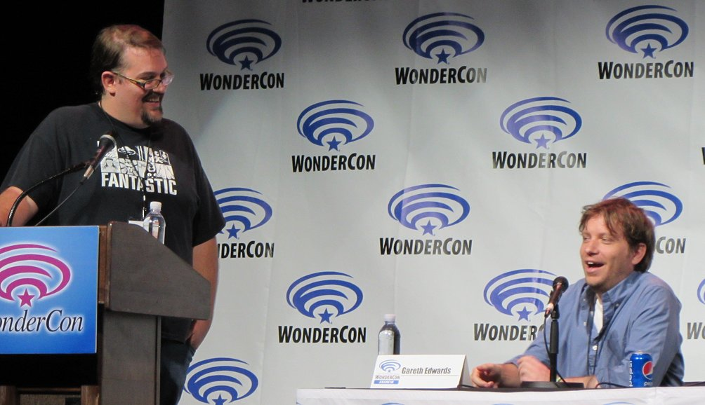 WonderCon, Godzilla, McWeeny, Gareth Edwards