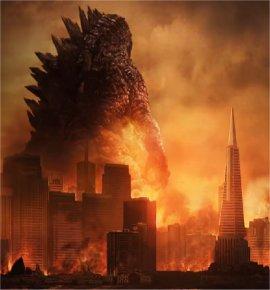 Godzilla's trip to Ikea in Tokyo
