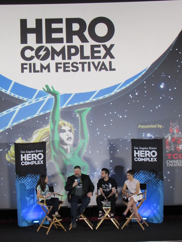 How To Train Your Dragon 2, Los Angeles Times Hero Complex Film Festival, Gina McIntyre, Dean DeBlois, Jay Baruchel, America Ferrera