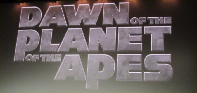 WonderCon, Dawn of the Planet of the Apes