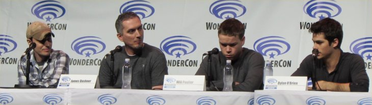 WonderCon, Maze Runner, Wes Ball, James Dashner, Will Poulter, Dylan O'Brien
