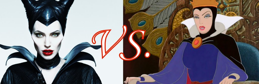 maleficent vs queen from snow white