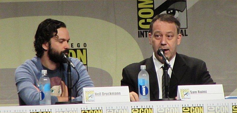 SDCC 2014, San Diego Comic-Con, Last of Us, Sam Raimi, Neil Druckman