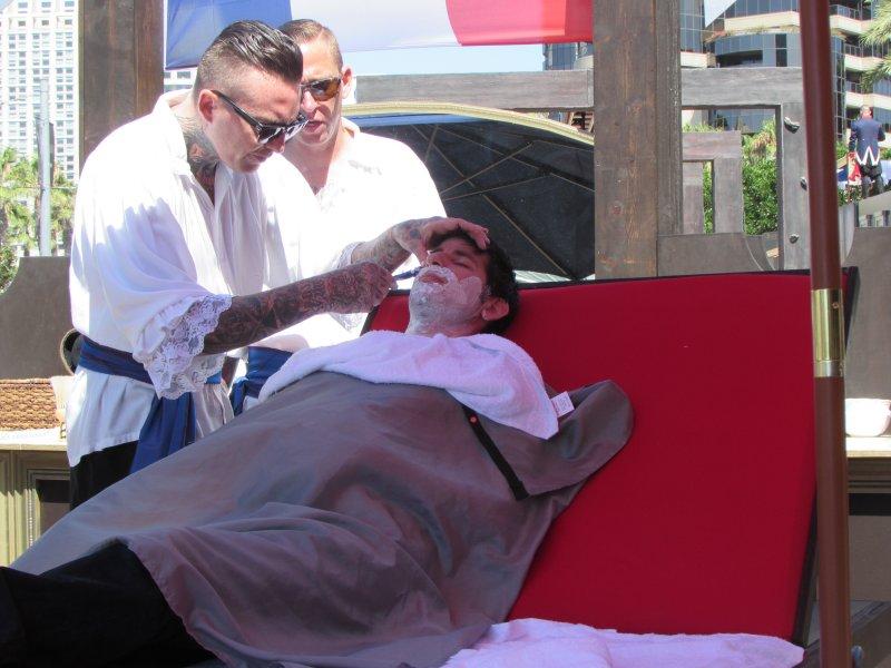 SDCC 2014, Shaving Station