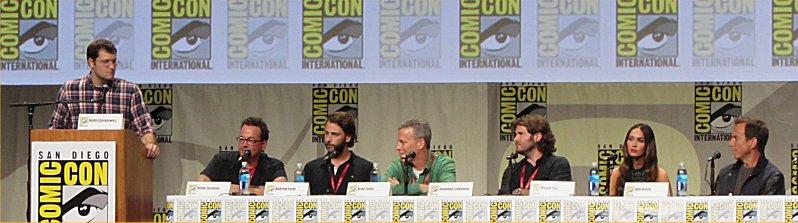 San Diego Comic-Con 2014, SDCC 2014, Teenage Mutant Ninja Turtles, TMNT, Kevin Eastman, Andrew Form, Brad Fuller, Megan Fox, Will Arnett