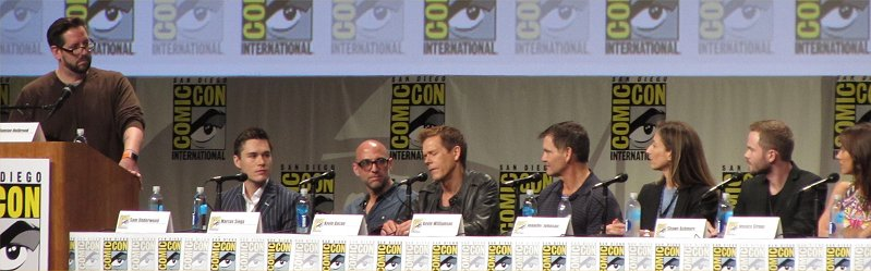 SDCC 2014, San Diego Comic-Con, The Following, Kevin Bacon