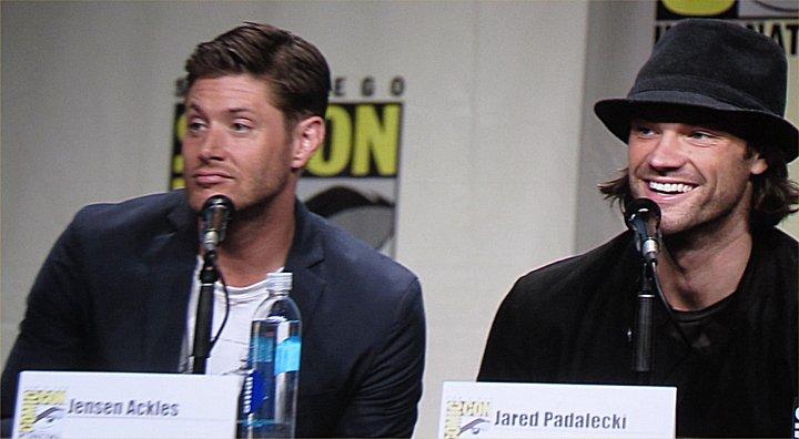 SDCC, SDCC 2014, San Diego Comic-Con, Supernatural, Jensen Ackles, Jared Padalecki