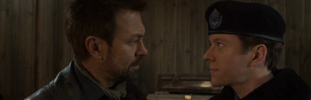 Nolan learns of Rafe's assassination of Tennety in episode 10 of Defiance