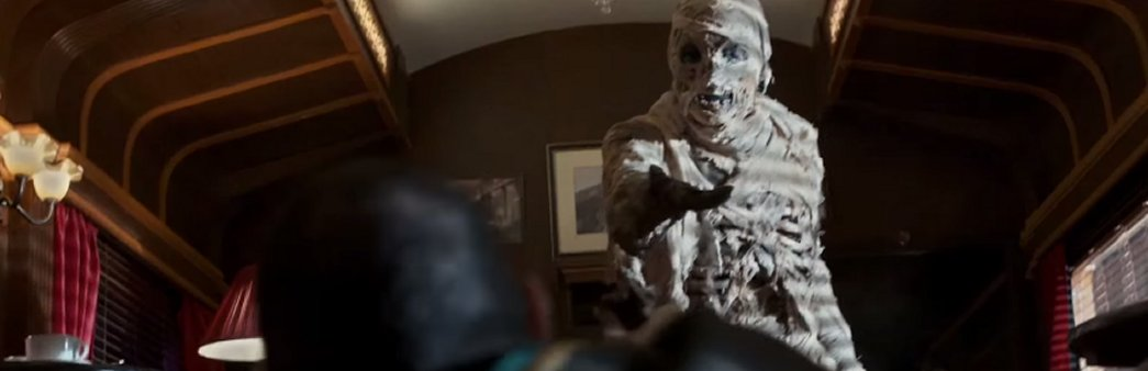 Doctor Who, Season 8 Episode 8, Mummy on the Orient Express