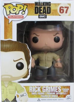 The Walking Dead Giveaway, Rick Grimes