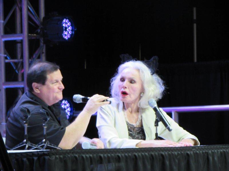 Comikaze 2014, Burt Ward, Julie Newmar, Robin, Catwoman
