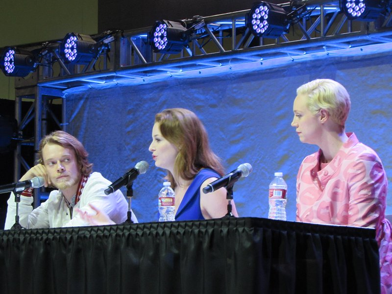 Comikaze 2014, Game of Thrones, Alfie Allen, Esme Biano, Gwendoline Christie