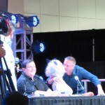 Comikaze 2014, Burt Ward, Julie Newmar, Batman, Robin, Catwoman