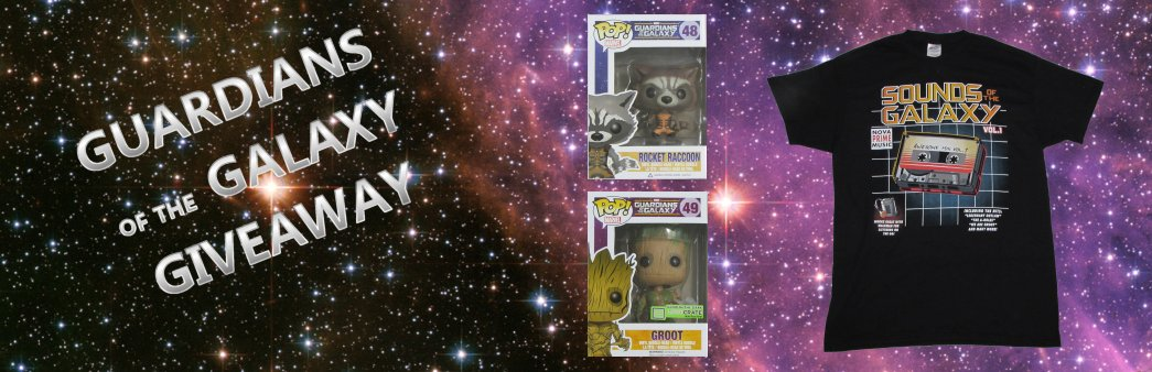 Guardians of the Galaxy giveaway