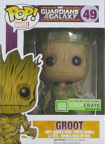 Guardians of the Galaxy Giveaway, Groot, Funko Pop Vinyl