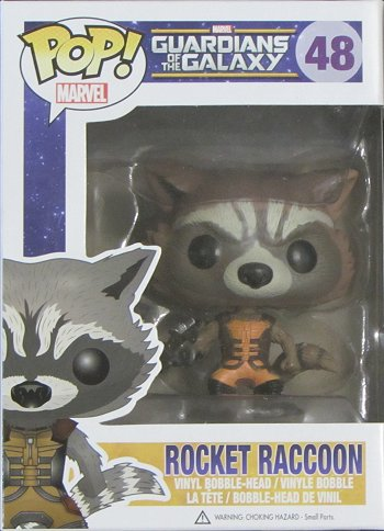Guardians of the Galaxy Giveaway, Rocket Raccoon, Funko Pop Vinyl