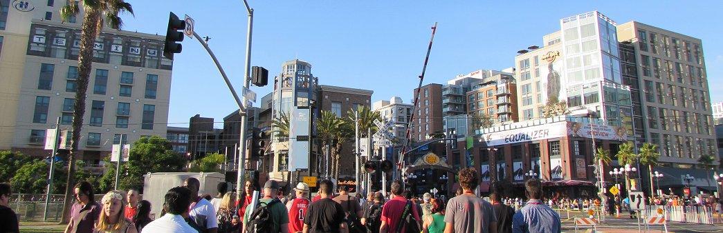 San Diego Comic-Con, Gaslamp