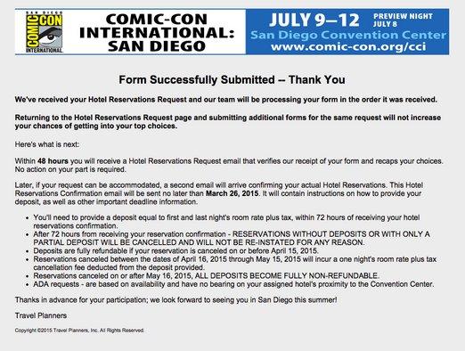 SDCC Hotelpocalypse, San Diego Comic-Con