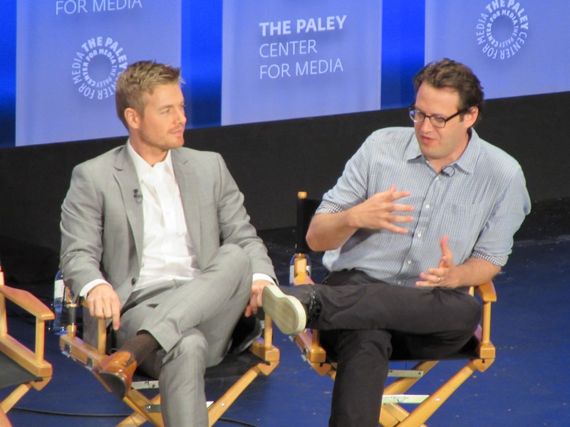 The Flash, PaleyFest LA 2015, Rick Cosnett, Andrew Kreisberg
